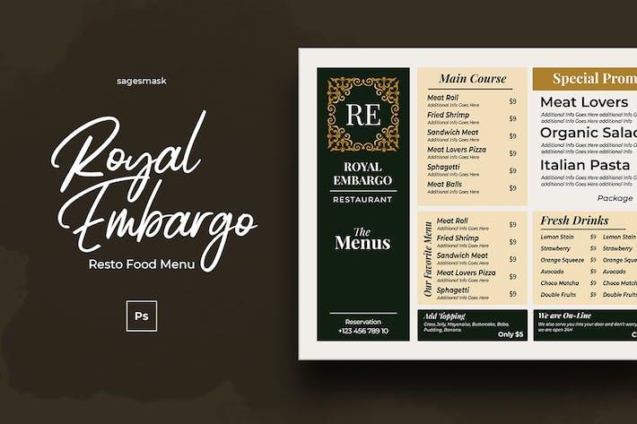 Thumbnail for Food Menu Royal Resto