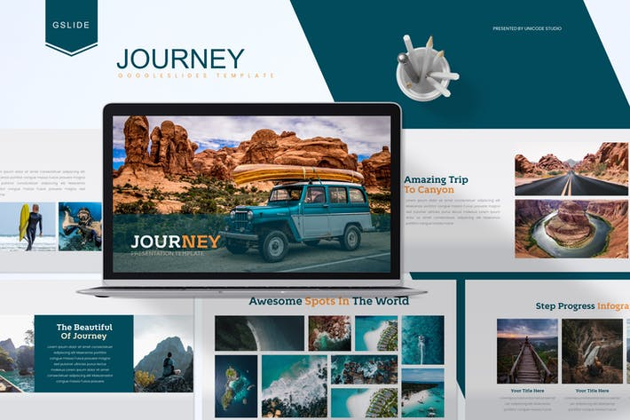 Thumbnail for Journey - Google Slides Template