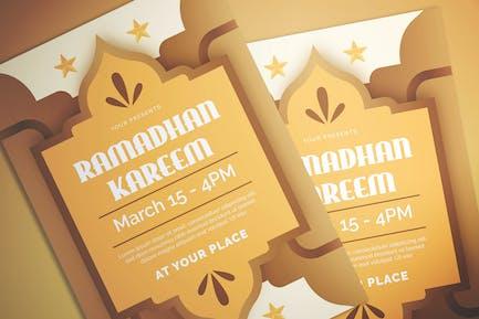 Ramadhan Event Flyer