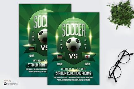 Soccer Flyer Template vol. 01 MR