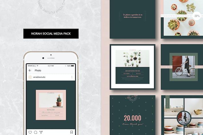 Thumbnail for Norah Social Media Pack