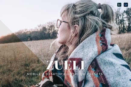Zueli Mobile and Desktop Lightroom Presets