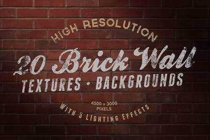 Brick Wall Textures / Backgrounds