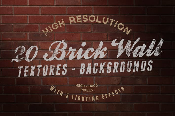 Thumbnail for Brick Wall Textures / Backgrounds