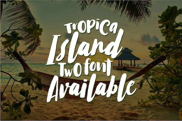 Tropical Island Font Duo