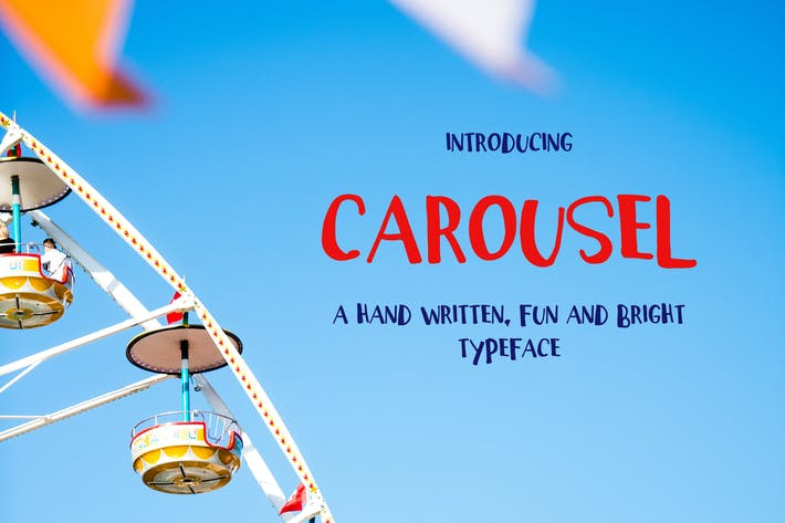 Thumbnail for Carousel Typeface