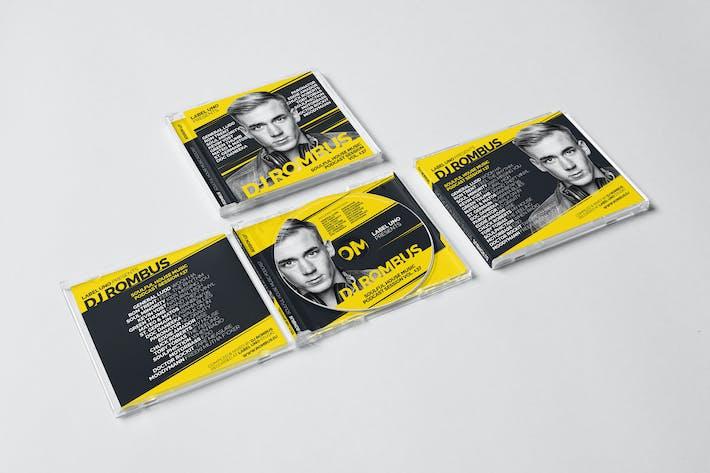 Cover Image For DJ Mix / Album / Single CD Cover Artwork