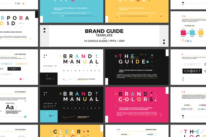 Thumbnail for Google Slides Brand Guidelines Template