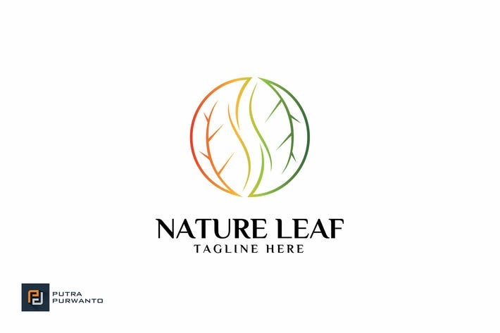 Thumbnail for Nature Leaf - Logo Template
