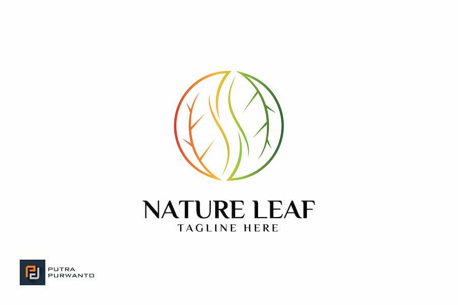 Nature Leaf - Logovorlage