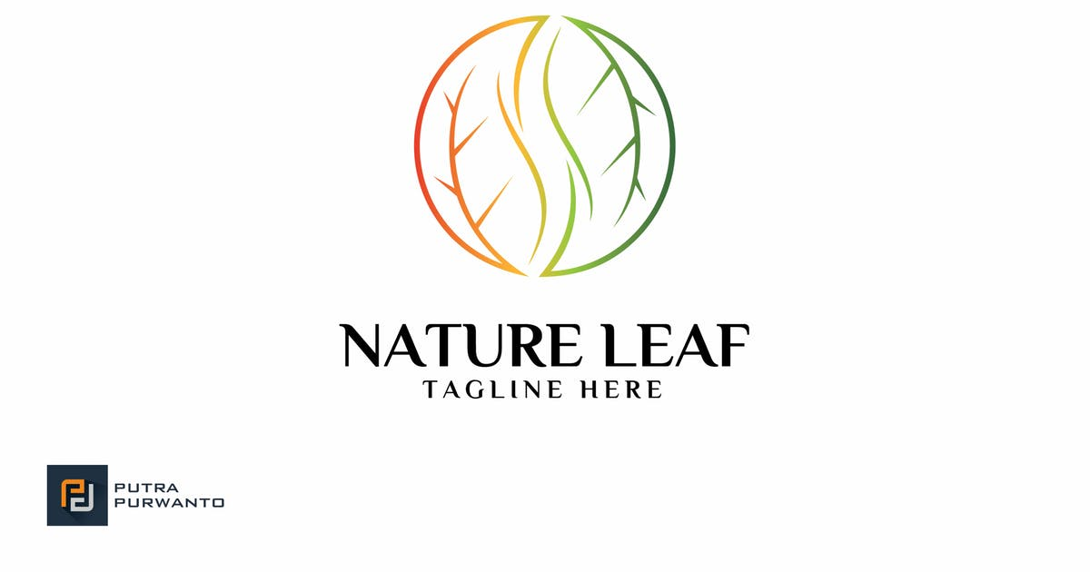 Download Nature Leaf - Logo Template by putra_purwanto