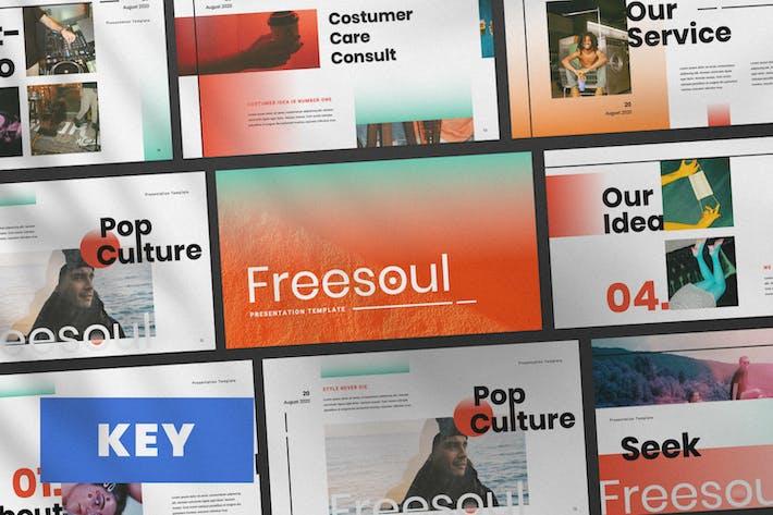 Thumbnail for Шаблон презентации Keynote Freesoul