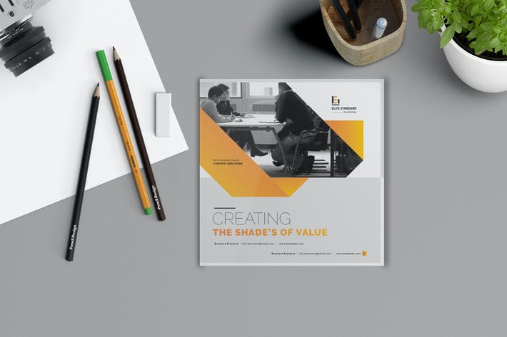 Cover Image For Square Business Brochure