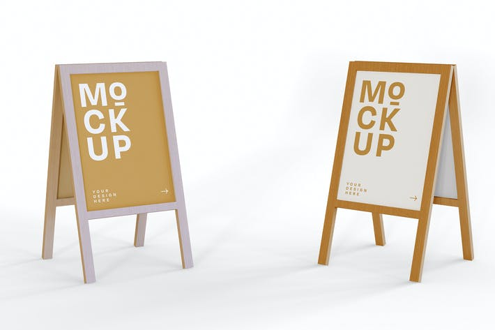 Thumbnail for Signboards Mockup