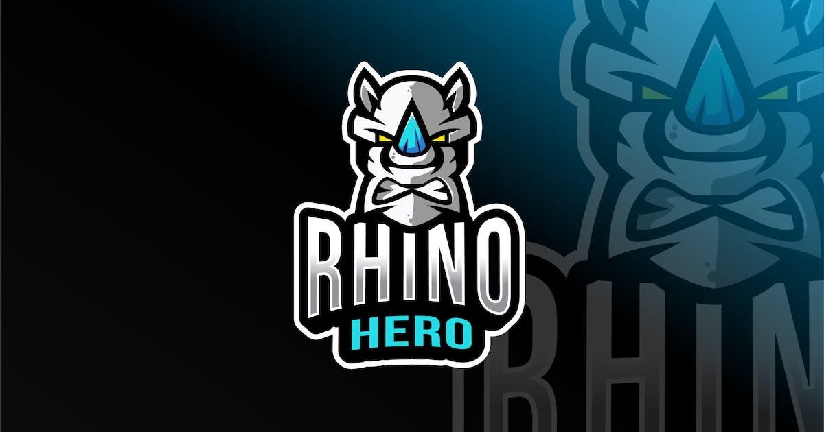 Download Rhino Hero Esport Logo Template by IanMikraz