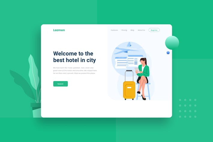 Thumbnail for Travel Flight not available landing page header