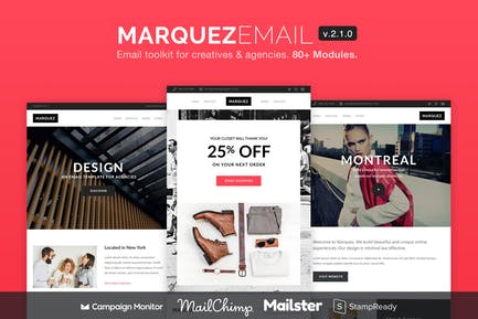 Marquez - Email for Agencies 80+ Sections