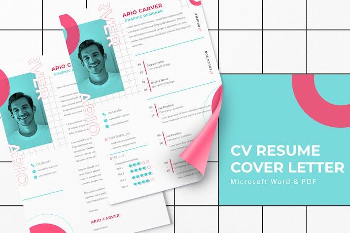 Thumbnail for Arlo Carver - CV Resume Template