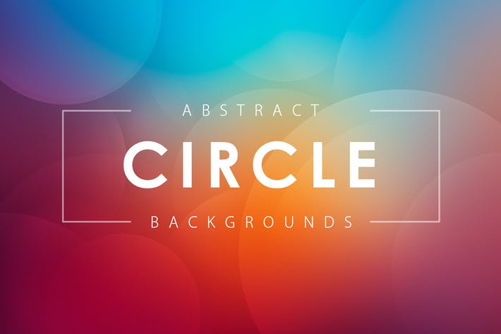 Thumbnail for Abstract Circle Backgrounds