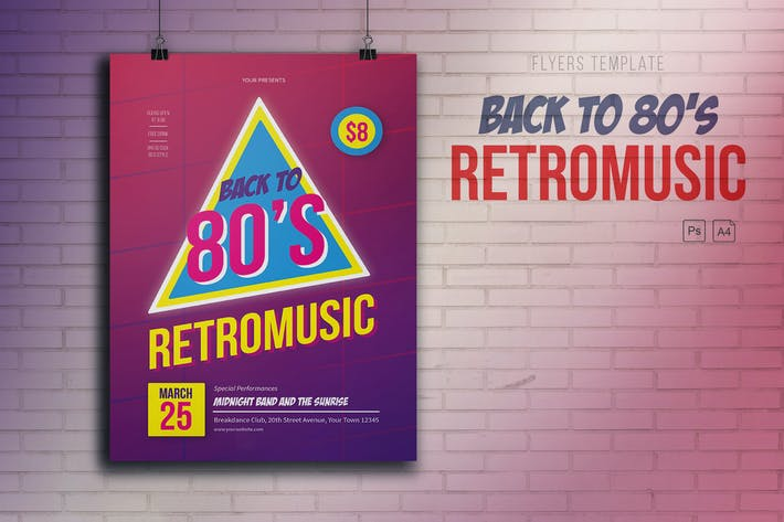 Cover Image For Retromusic Back to 80's