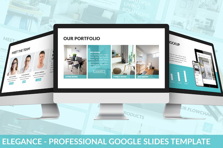 Thumbnail for Elegance - Professional Google Slides Template