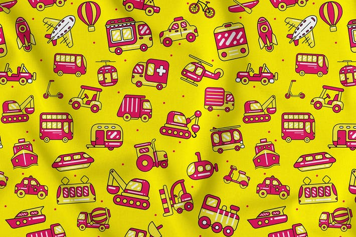 Thumbnail for Transport Seamless Pattern
