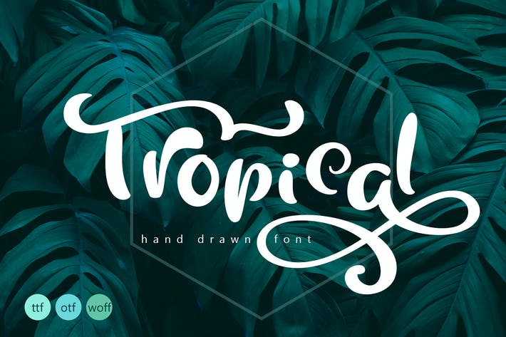 Thumbnail for Tropical Summer Font