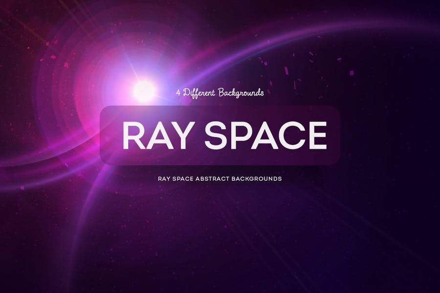 Ray Space Abstract Backgrounds