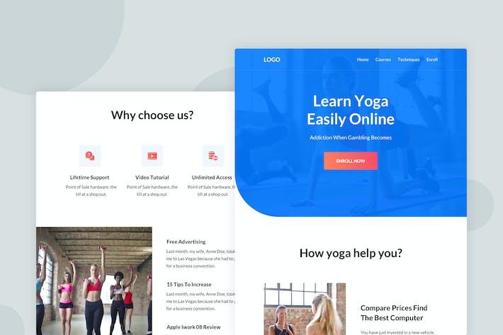 Thumbnail for Yoga - Email Newsletter