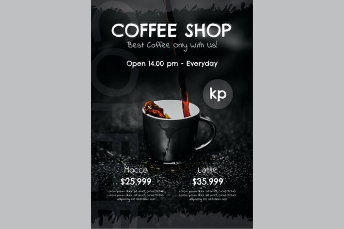 Thumbnail for Coffee Shop Flyer