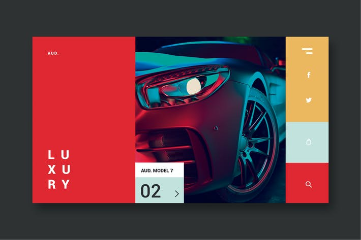 Thumbnail for Luxury Cars - Landing Page