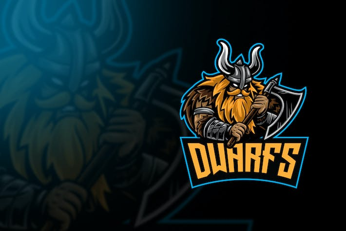 Thumbnail for Dwarf Esport Logo