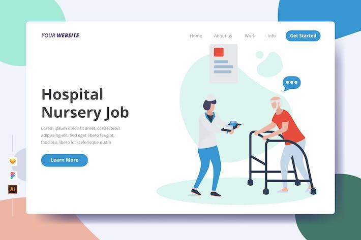 Thumbnail for Hospital Nursery Job - Landing Page