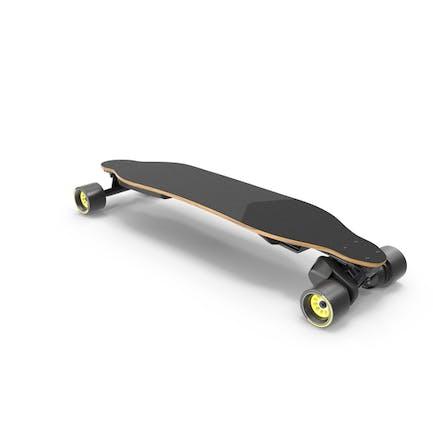 Elektrisches Skateboard mit Riemenantriebsmotor