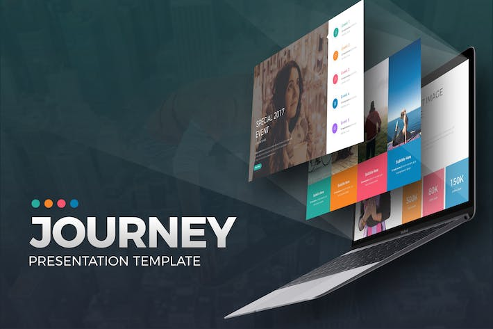 Thumbnail for Journey Presentation Template