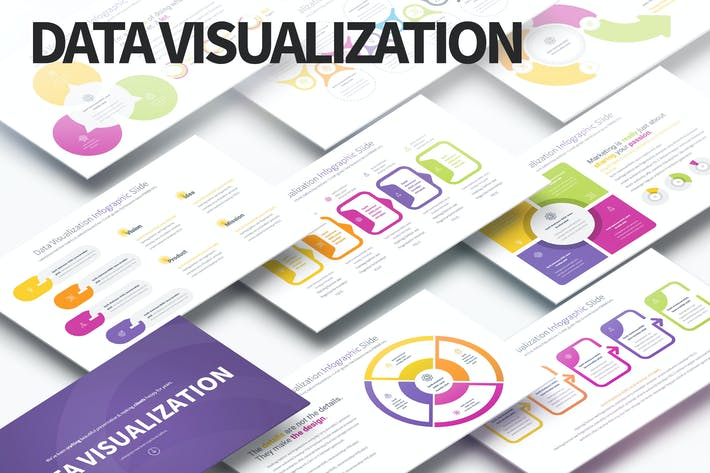 Data Visualization - PowerPoint Infographics Slide