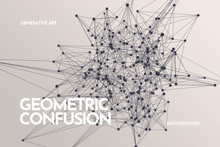 Geometric Confusion Backgrounds