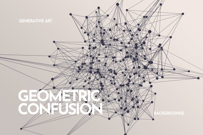 Cover Image For Geometric Confusion Backgrounds
