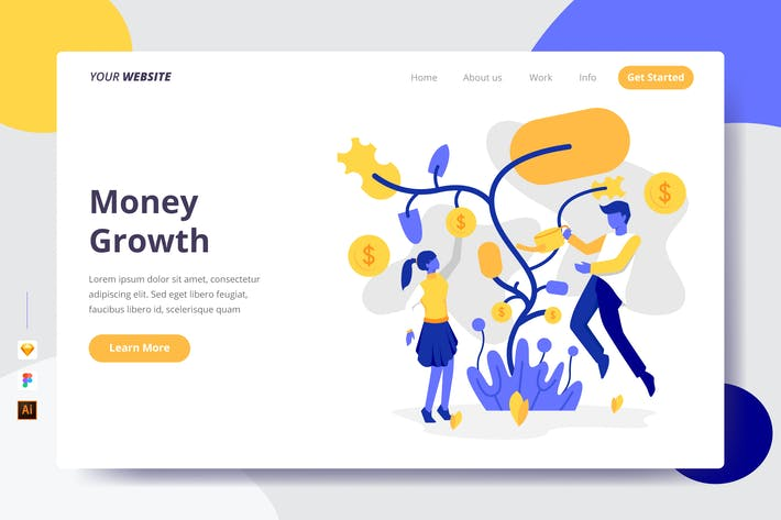 Thumbnail for Money Growth - Landing Page