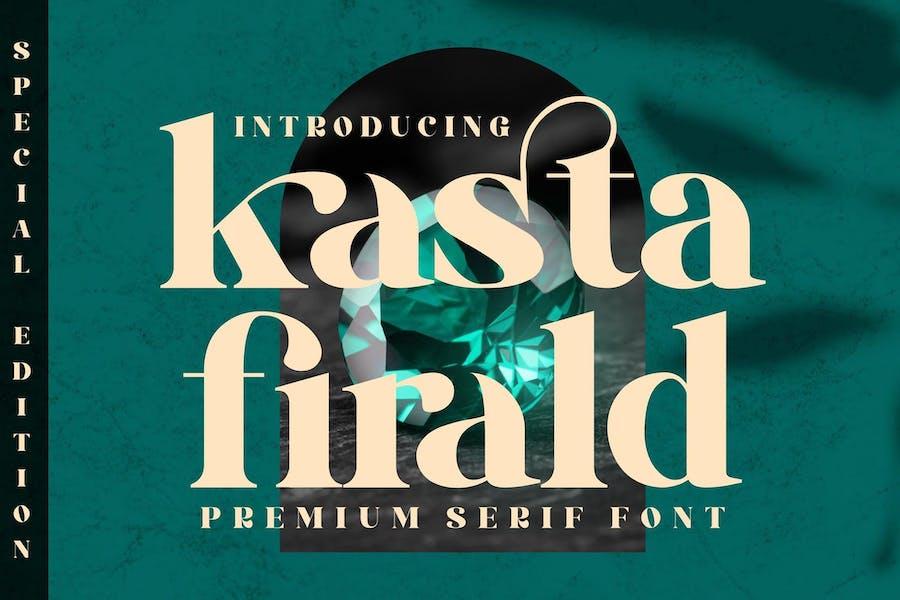Kasta Firald Con serifa LS