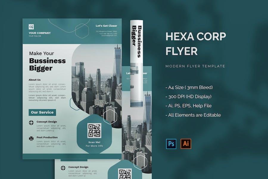 Hexa Corp - Flyer