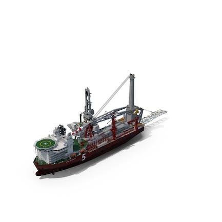 Heavy Lift Pipe-lay Multi Purpose Vessel