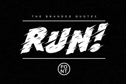 ¡ Corre! Font + Tutorial de Texto Arcade