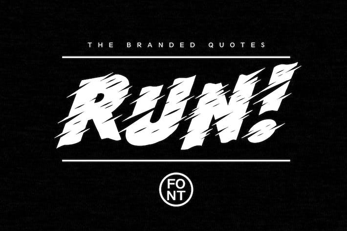 Thumbnail for Run! Font + Arcade Text Tutorial