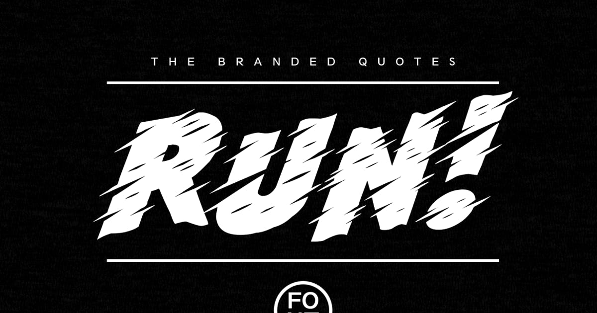 Download Run! Font + Arcade Text Tutorial by TheBrandedQuotes