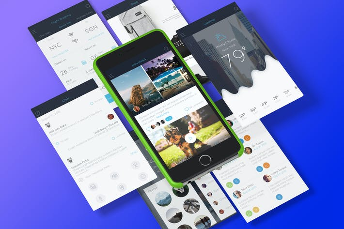 Thumbnail for AB Part 2 - Sketch Mobile UI Kit