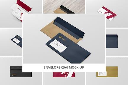 Envelope C5 / 6 Mock-Up