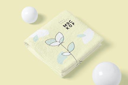 Elegant Full Towel Mockups