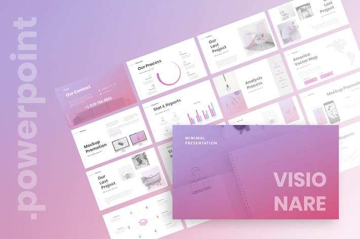 Thumbnail for Visionare - Powerpoint Presentation