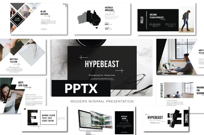 Thumbnail for Hypebeast Business Powerpoint - LS